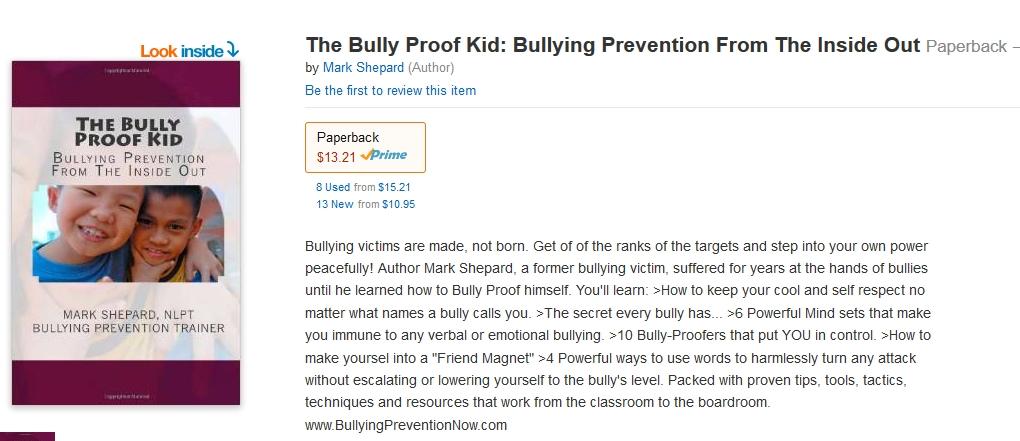 bully proof kid amazon screenshot